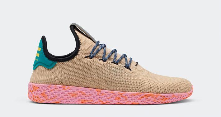 Pharrell Williams x Adidas Tennis Hu Nomad Yellow