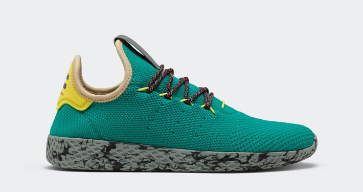 Pharrell Williams x Adidas Tennis Hu Teal