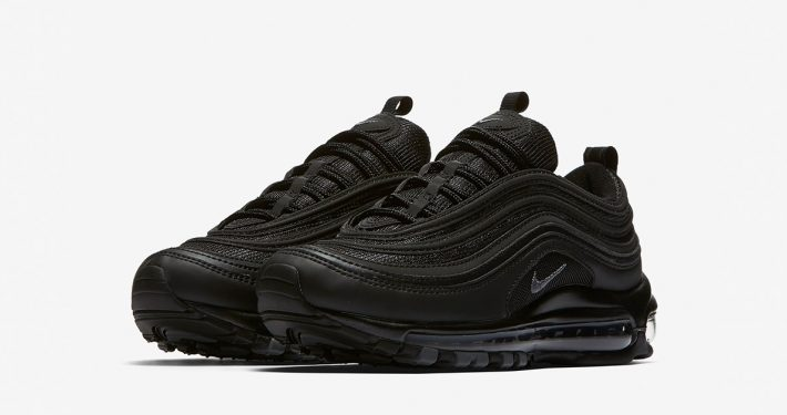 Womens Nike Air Max 97 Black Dark Grey