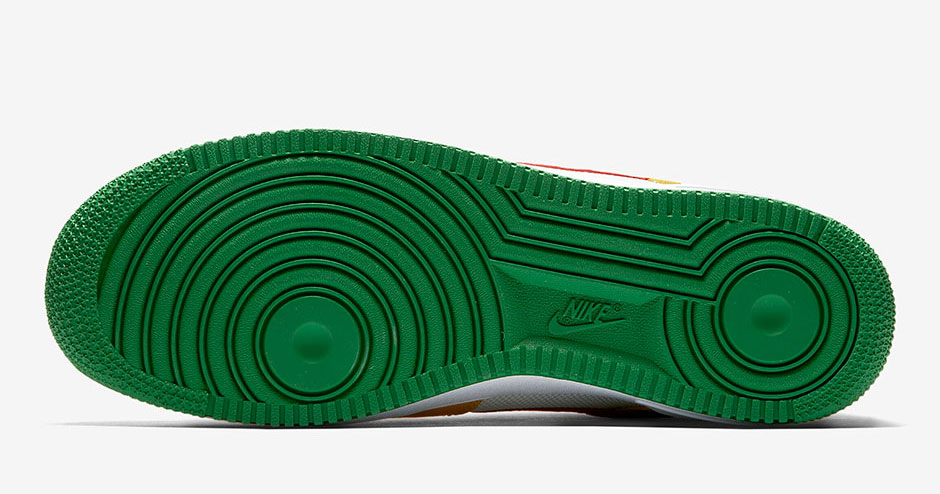 Nike Air Force 1 Low Carnival Yellow Cool Sneakers