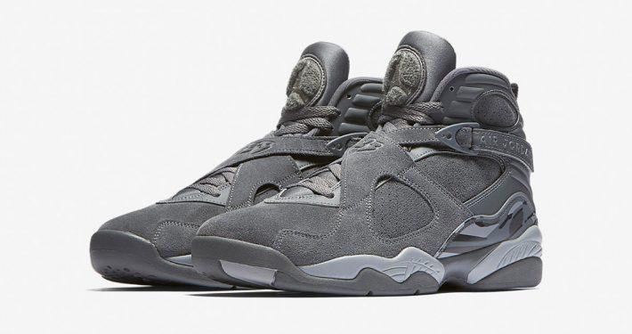 Nike Air Jordan 8 Retro Cool Grey