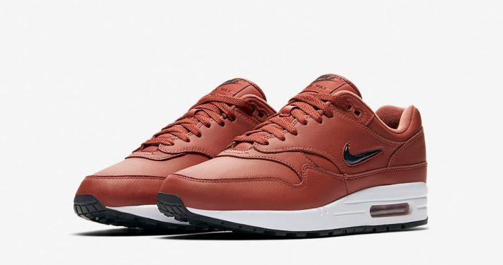 Nike Air Max 1 Premium Jewel Swoosh Dusty Peach
