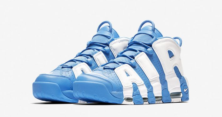 Nike Air More Uptempo University Blue White