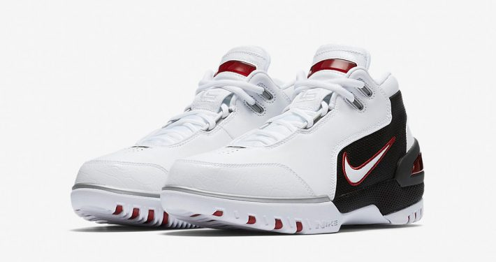 Nike Air Zoom Generation White Varsity Crimson Black