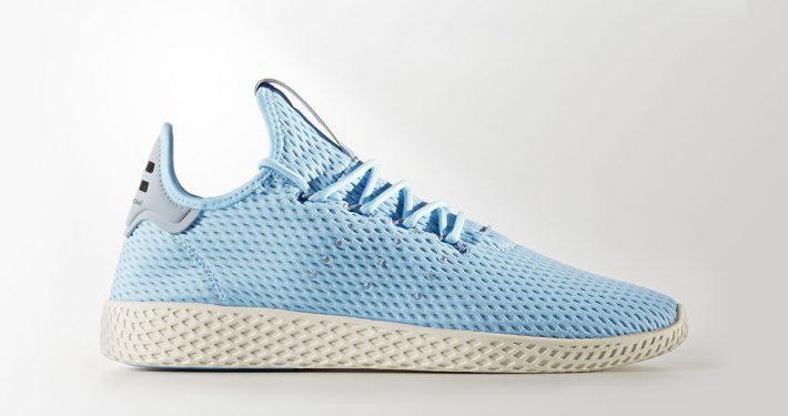 Pharrell Williams x Adidas Tennis Hu Ice Blue