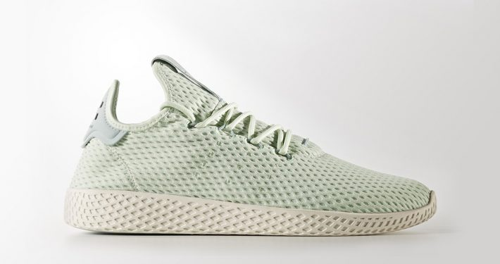 Pharrell Williams x Adidas Tennis Hu Tactile Green