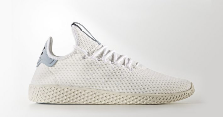 Pharrell Williams x Adidas Tennis Hu White Tactile Blue