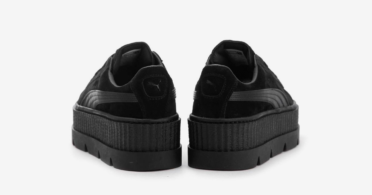 Rihanna x Puma Cleated Creeper Suede Black