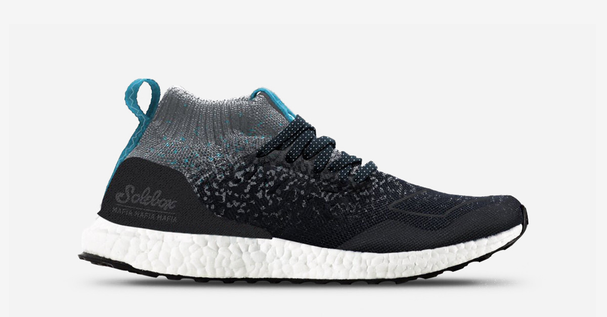 Solebox x Packer Shoes x Adidas Energy Boost Cool Sneakers