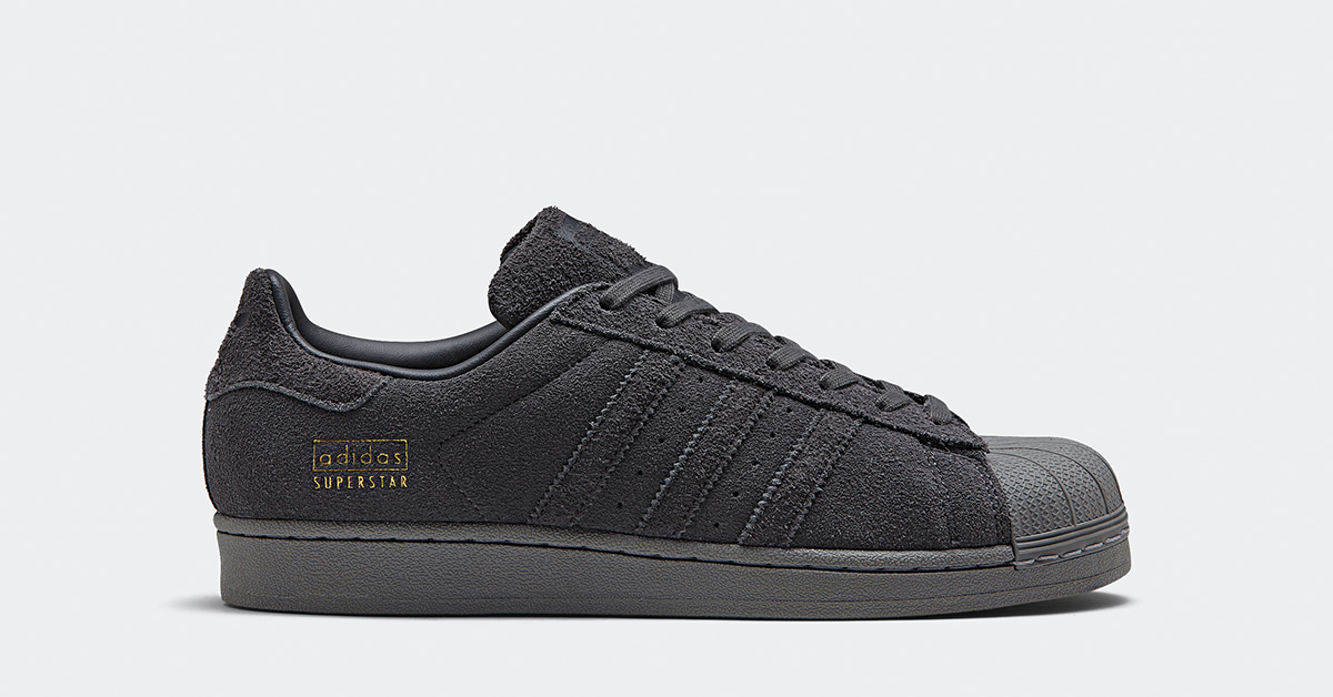 Adidas Superstar 80s Suede Grey Cool Sneakers