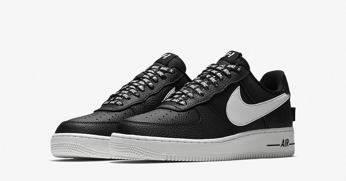 NikeLAB Air Force 1 Low Ultra Flyknit Black