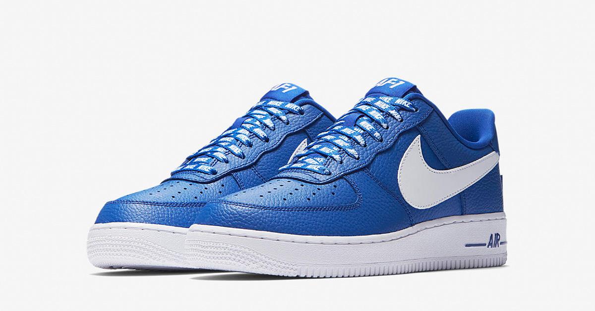 Nike Air Force 1 Low NBA Game Royal White