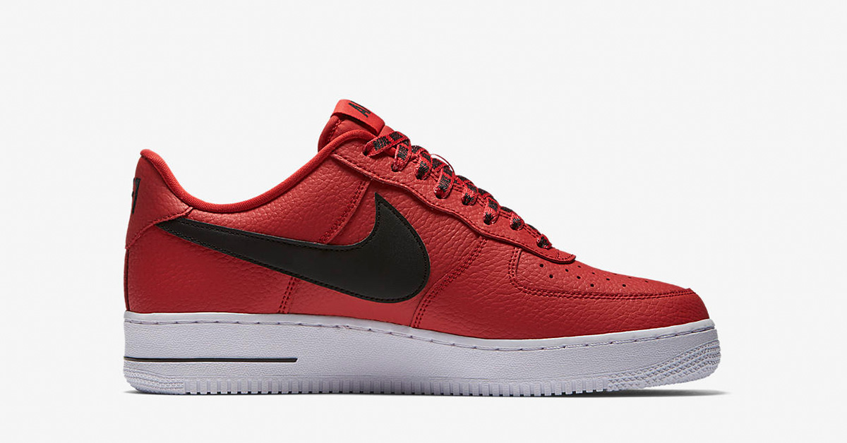Nike Air Force 1 Low NBA Team Red White