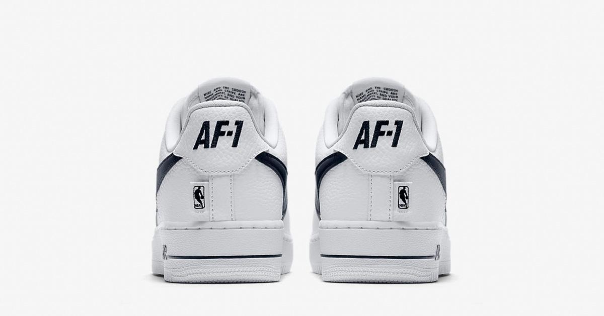 nike air Force 1 nba hvid