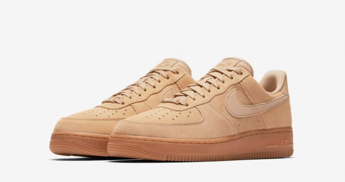 Nike Air Force 1 Low Suede Mushroom Gum AA1117-200