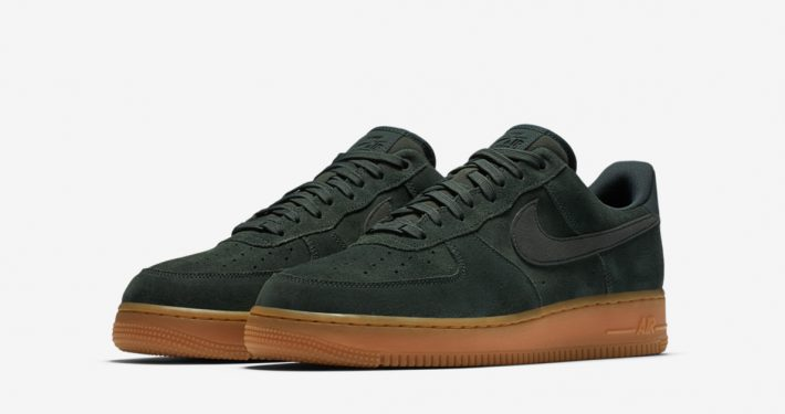 Nike Air Force 1 Low Suede Outdoor Green Gum AA1117-300