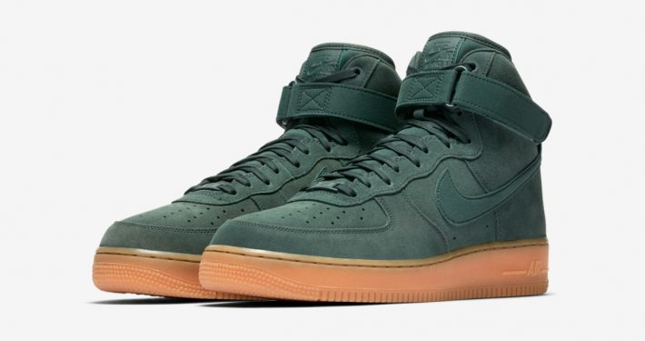 Nike Air Force 1 Mid Suede Vintage Green Gum AA1118-300
