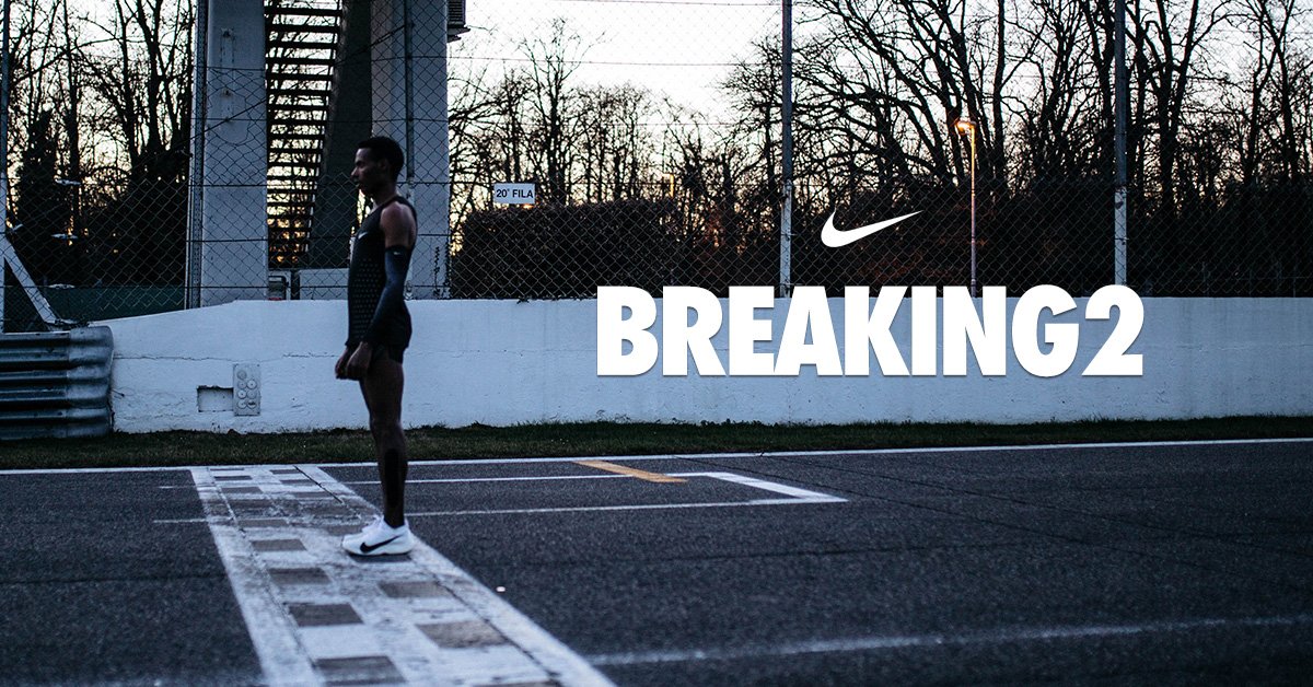 Nike Breaking2 filmen