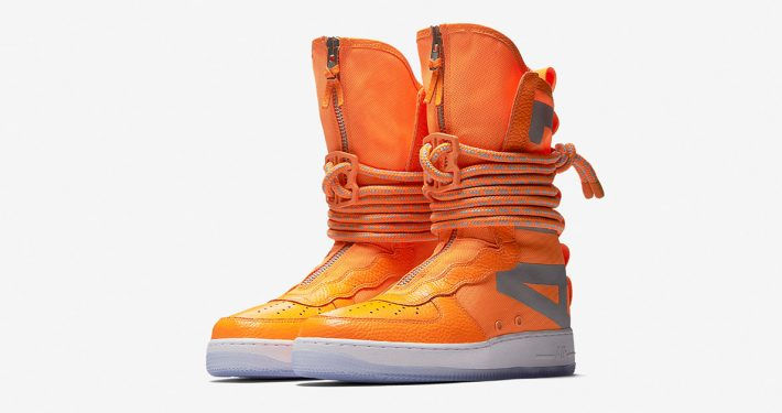 Nike Special Field Air Force 1 High Total Orange