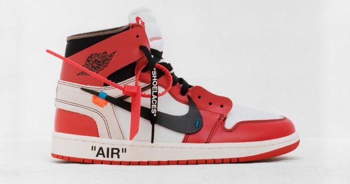 Virgil Abloh x Nike Air Jordan 1 Revealing