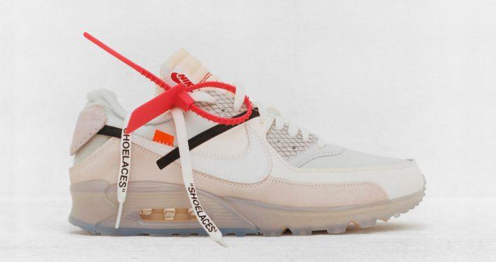 Virgil Abloh x Nike Air Max 90 Revealing
