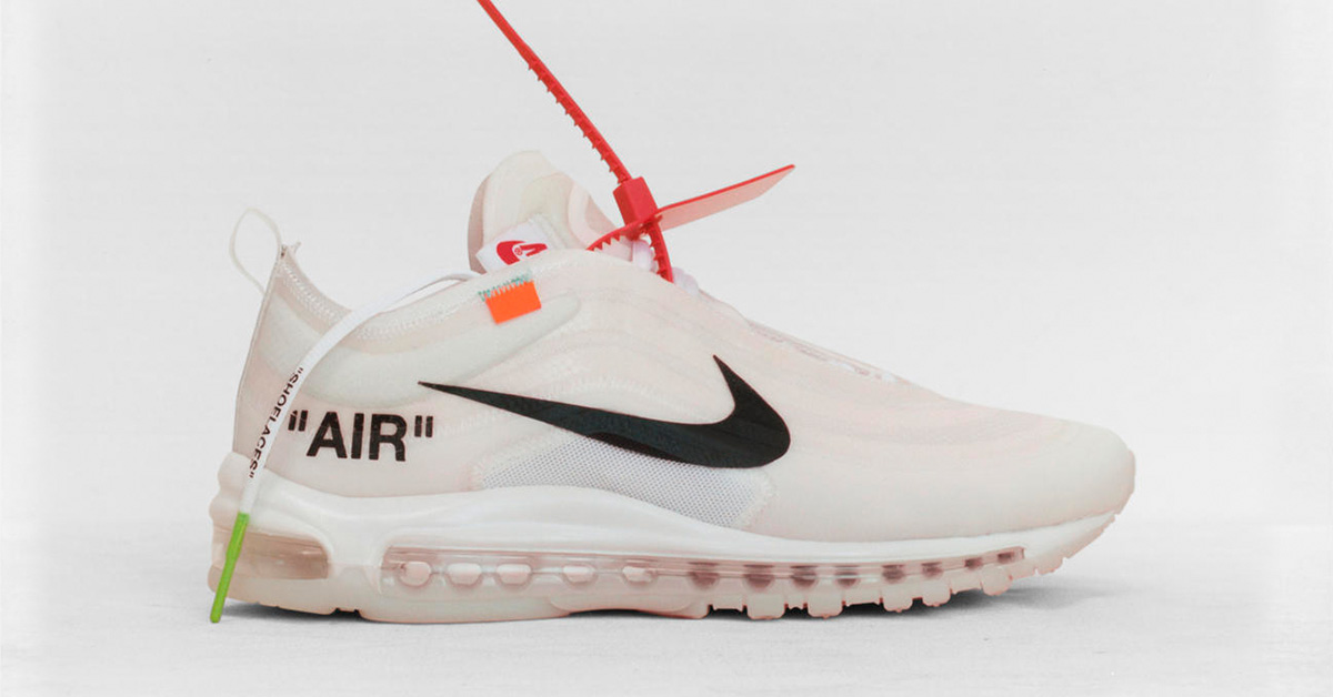 Virgil Abloh x Nike Air Max 97 Ghosting