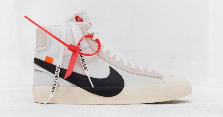 Virgil Abloh x Nike Blazer Revealing