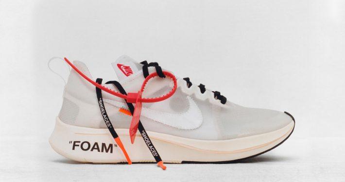 Virgil Abloh x Nike Zoom VaporFly Ghosting