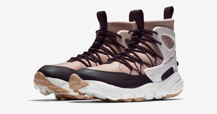Womens Nike Air Footscape Mid Utility Particle Pink