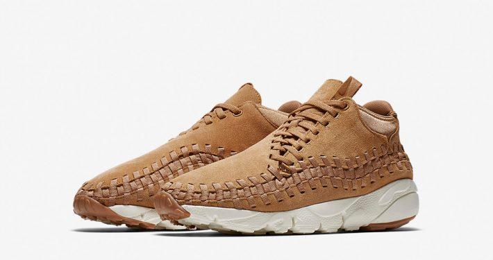 Nike Air Footscape Woven Chukka Natural Weave 443686-205
