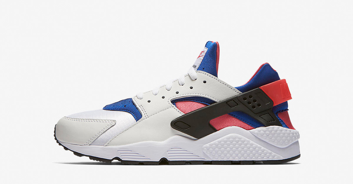 Nike Air Huarache Run 91 White Game Royal AH8049-100