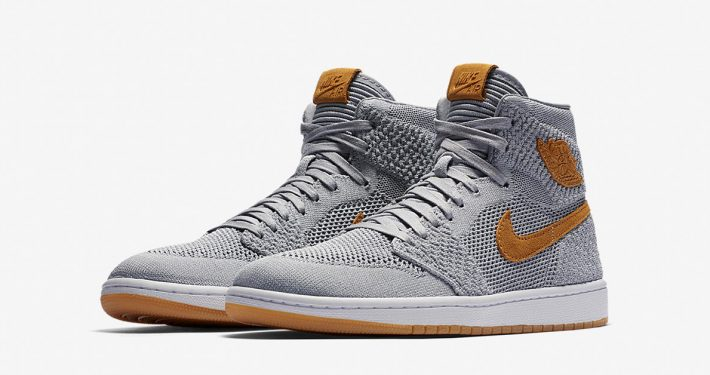 Nike Air Jordan 1 Flyknit Wolf Grey 919704-025