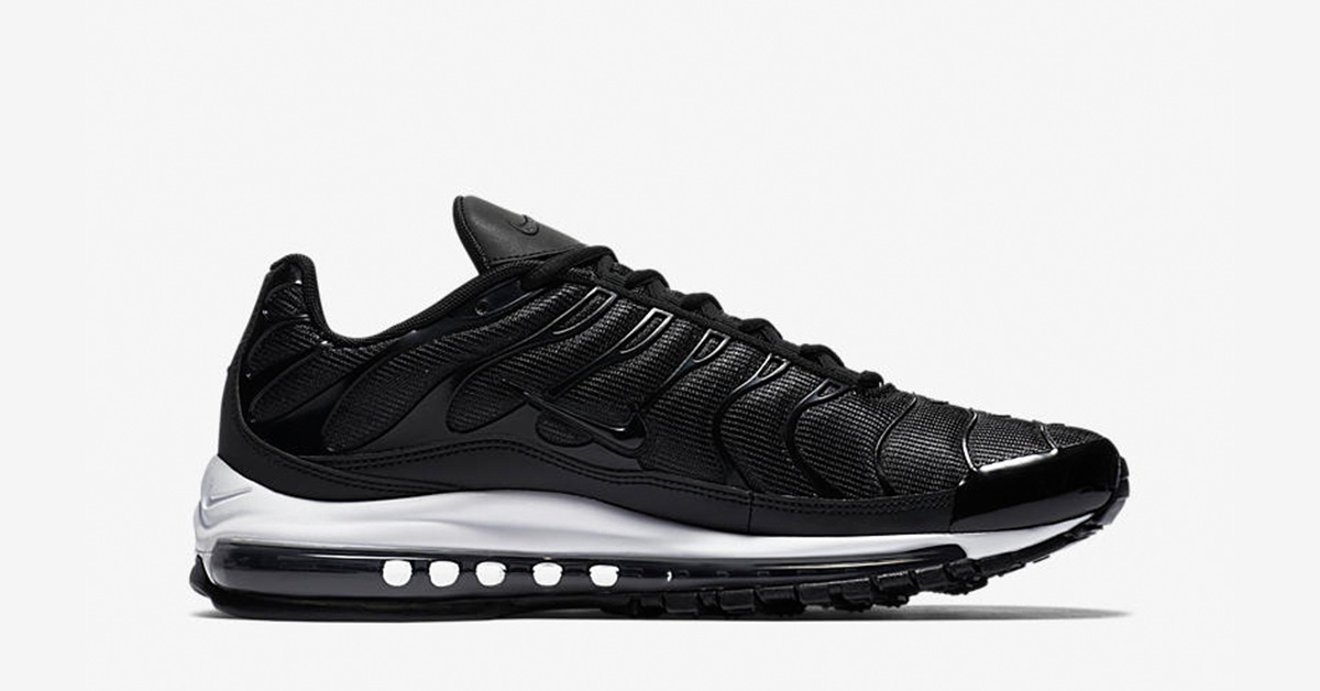 Nike Air Max 97 Plus Black White AH8144-001