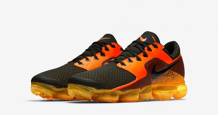 Nike Air VaporMax CS Mesh Black Orange
