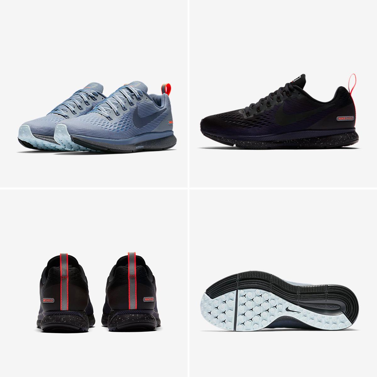 Nike Air Zoom Pegasus 34 Shield til damer