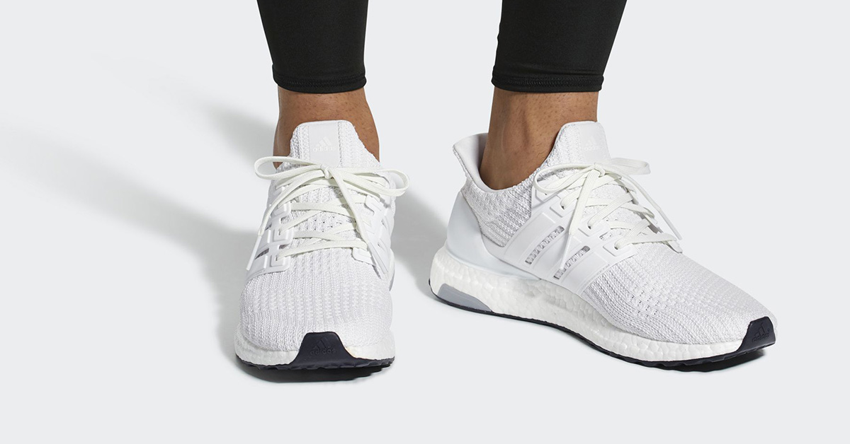 """Adidas Ultra Boost 4.0 """"Triple White�?Real Boost BB6168"""