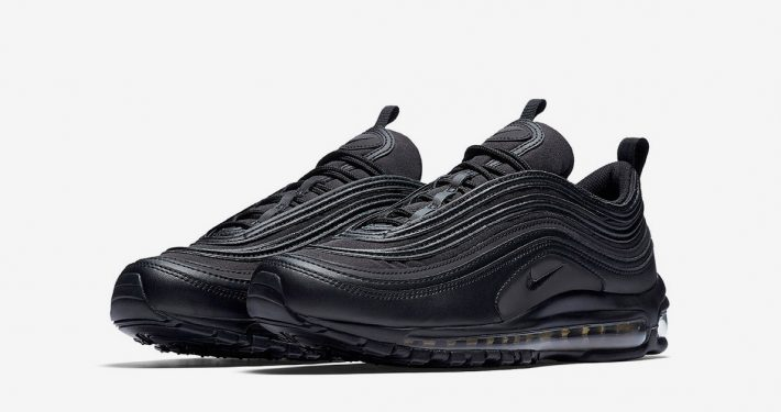 Nike Air Max 97 Black Reflective Gold