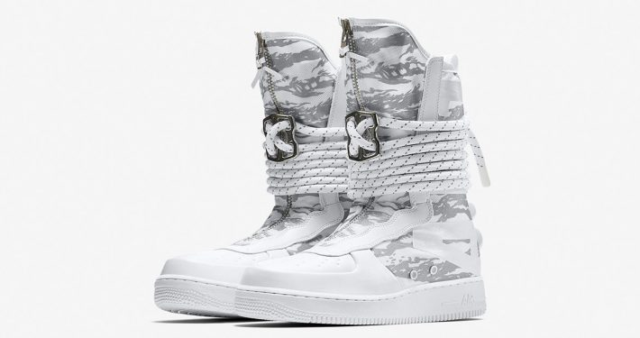 Nike Special Field Air Force 1 High Triple White AA1130-100
