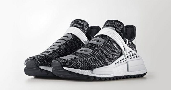 Pharrell Williams x Adidas NMD Hu Trail Black