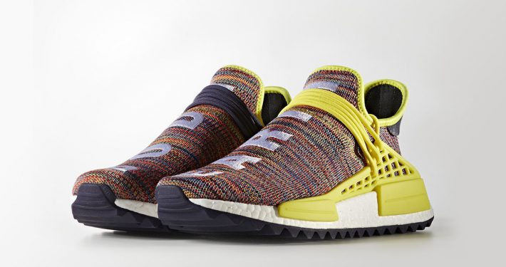 Pharrell Williams x Adidas NMD Hu Trail Multi