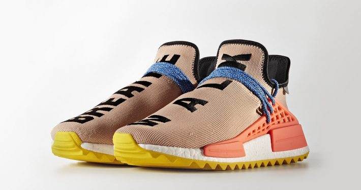 Pharrell Williams x Adidas NMD Hu Trail Pale Nude