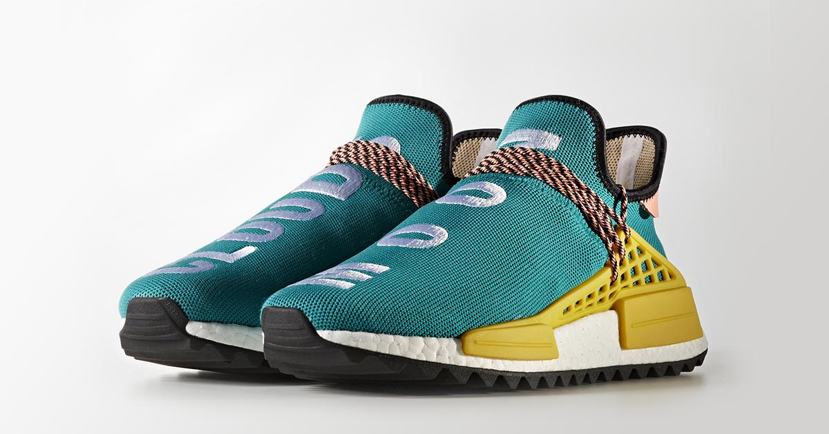 Pharrell Williams x Adidas NMD Hu Trail Sun Glow | AC7188