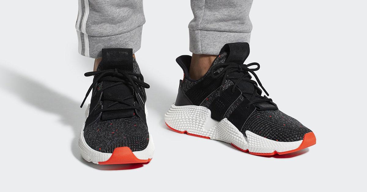 Adidas Prophere Black Red CQ3022