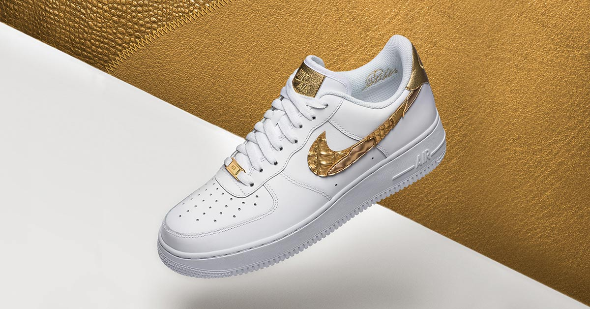 Nike Air Force 1 CR7 'Golden Patchwork' Release Date. Nike