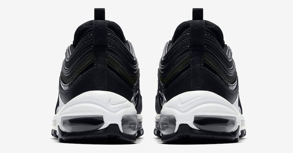 Womens Nike Air Max 97 Premium Black Cool Sneakers