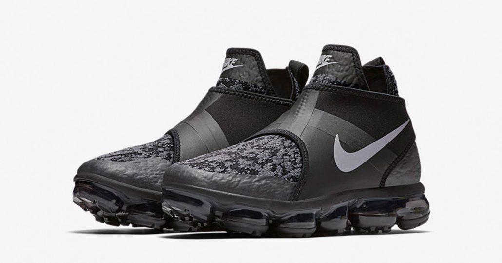 03e73327d1313 Nike Air VaporMax Chukka Slip Anthracite - Cool Sneakers