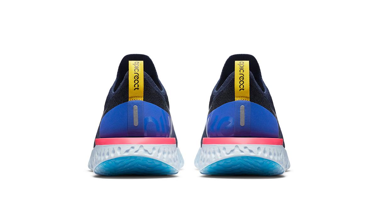 Blå Nike Epic React Løbesko