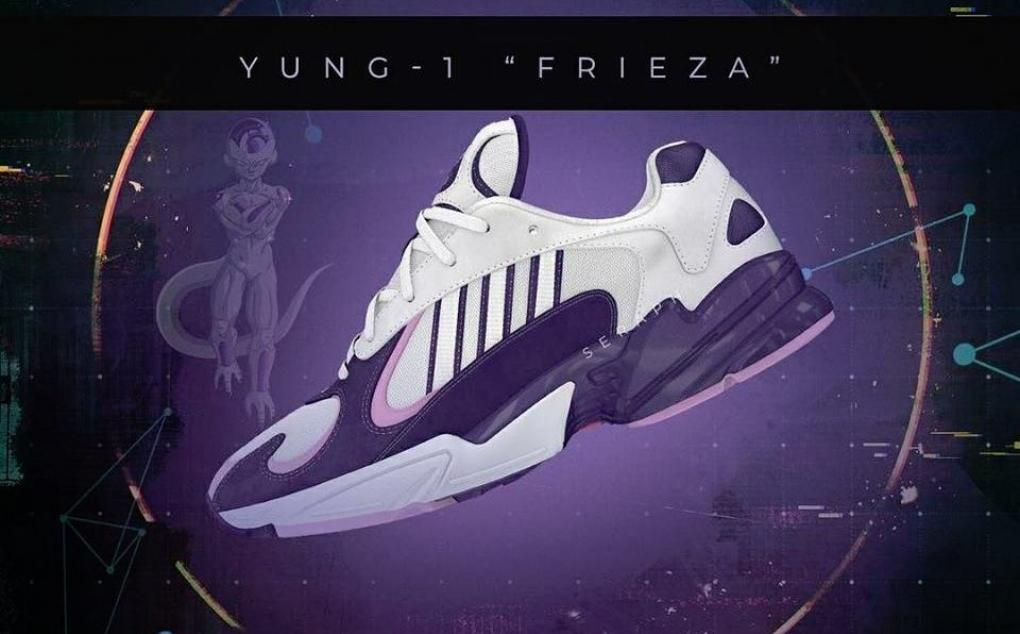 Dragon Ball Z x Adidas Yung 1 Frieza