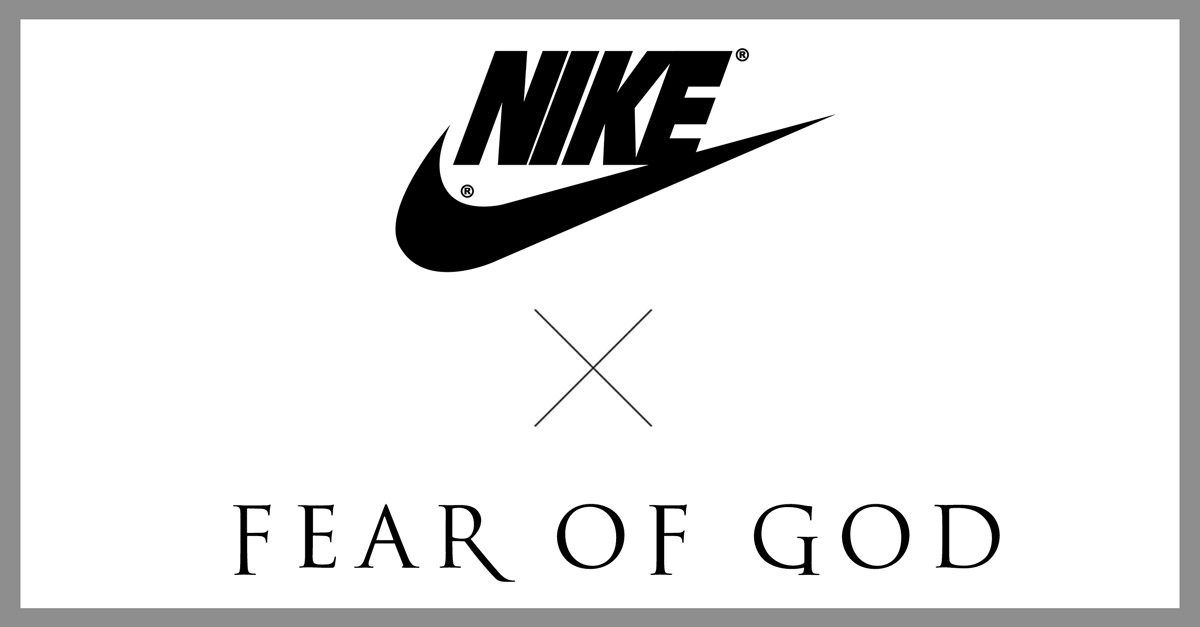 Fear of God x Nike