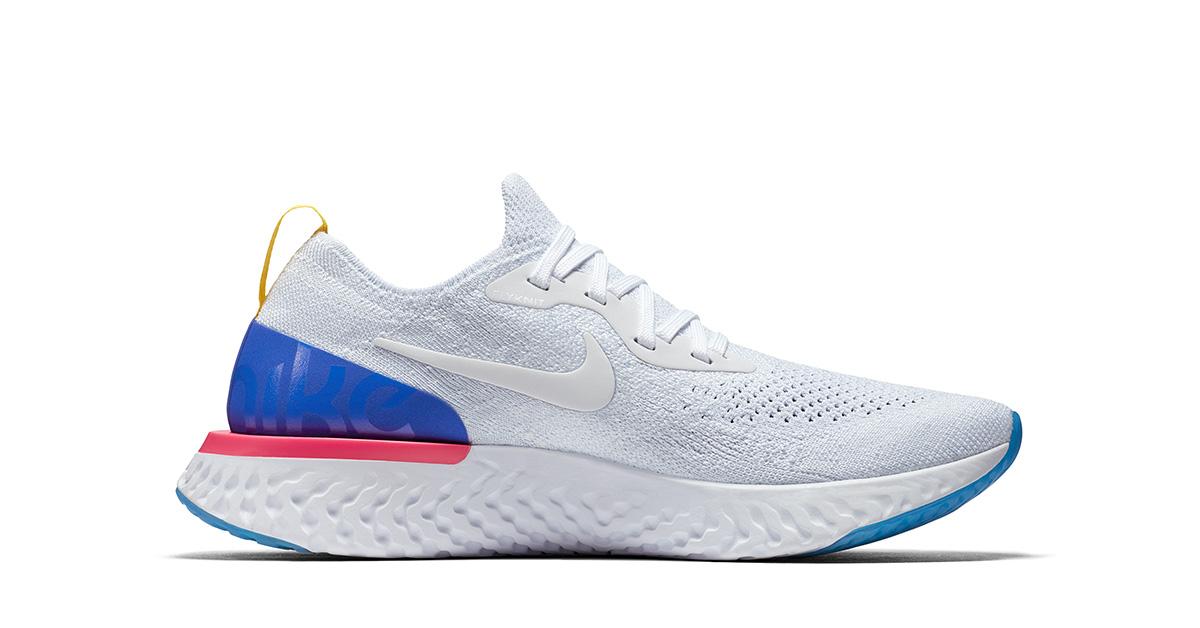 Hvide Nike React Løbesko
